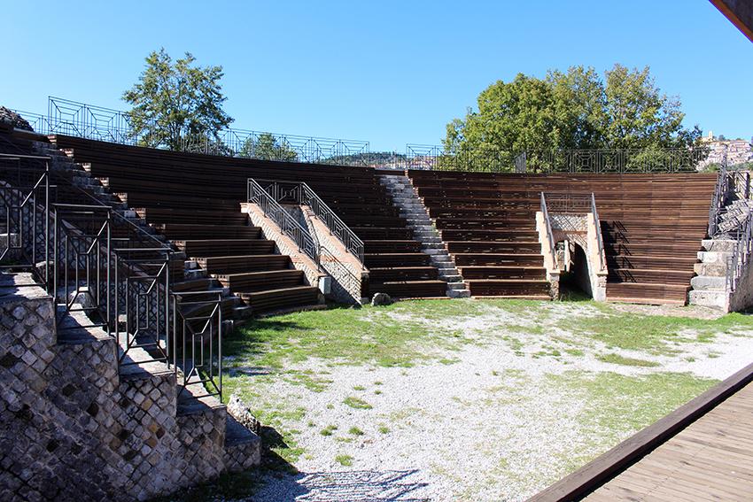 Cavea del Parco Archeolgico di Grumentum