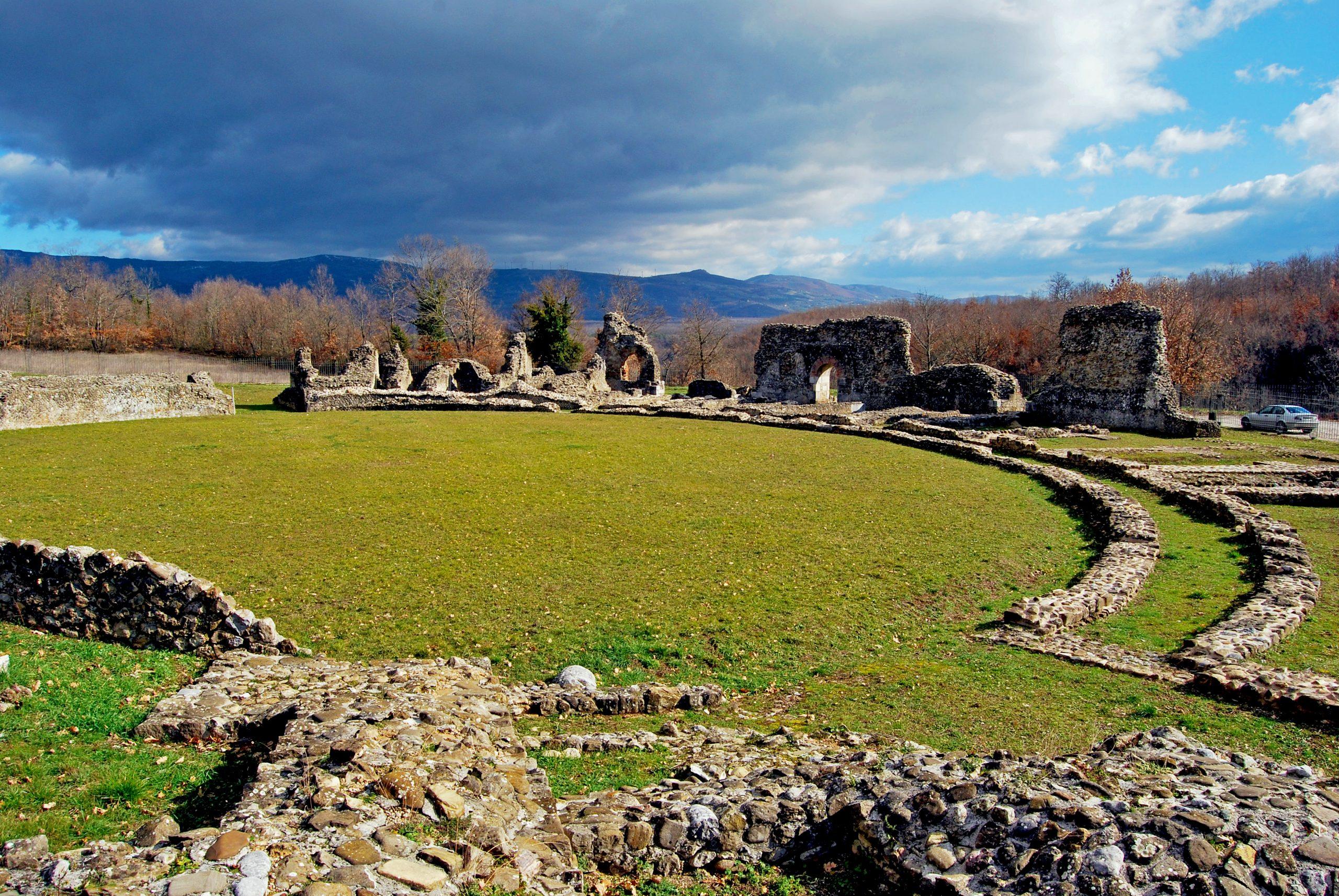 Anfiteatro del Parco Archeologico di Grumentum