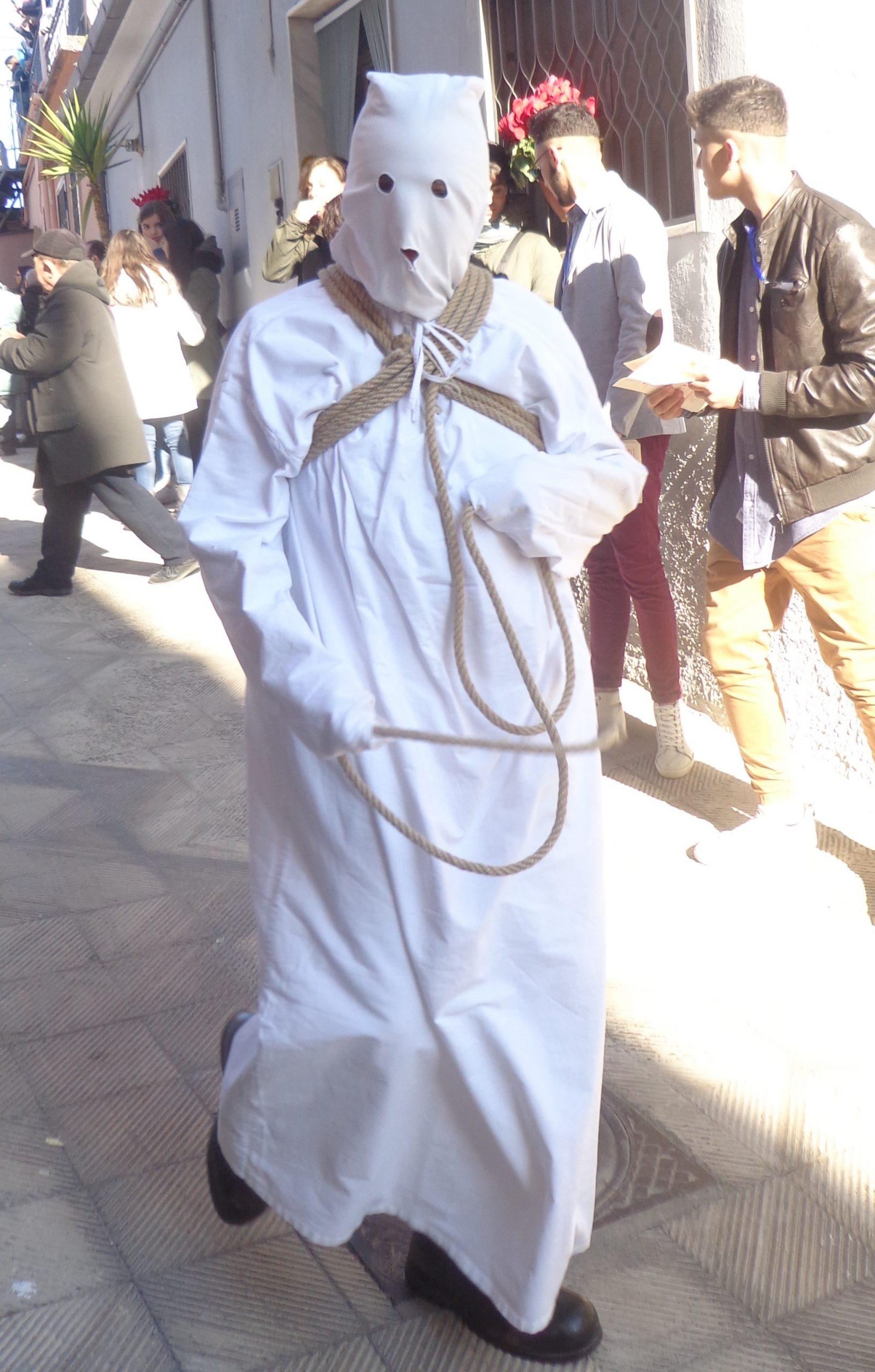 Il Malco, personaggio della Via Crucis di Braile