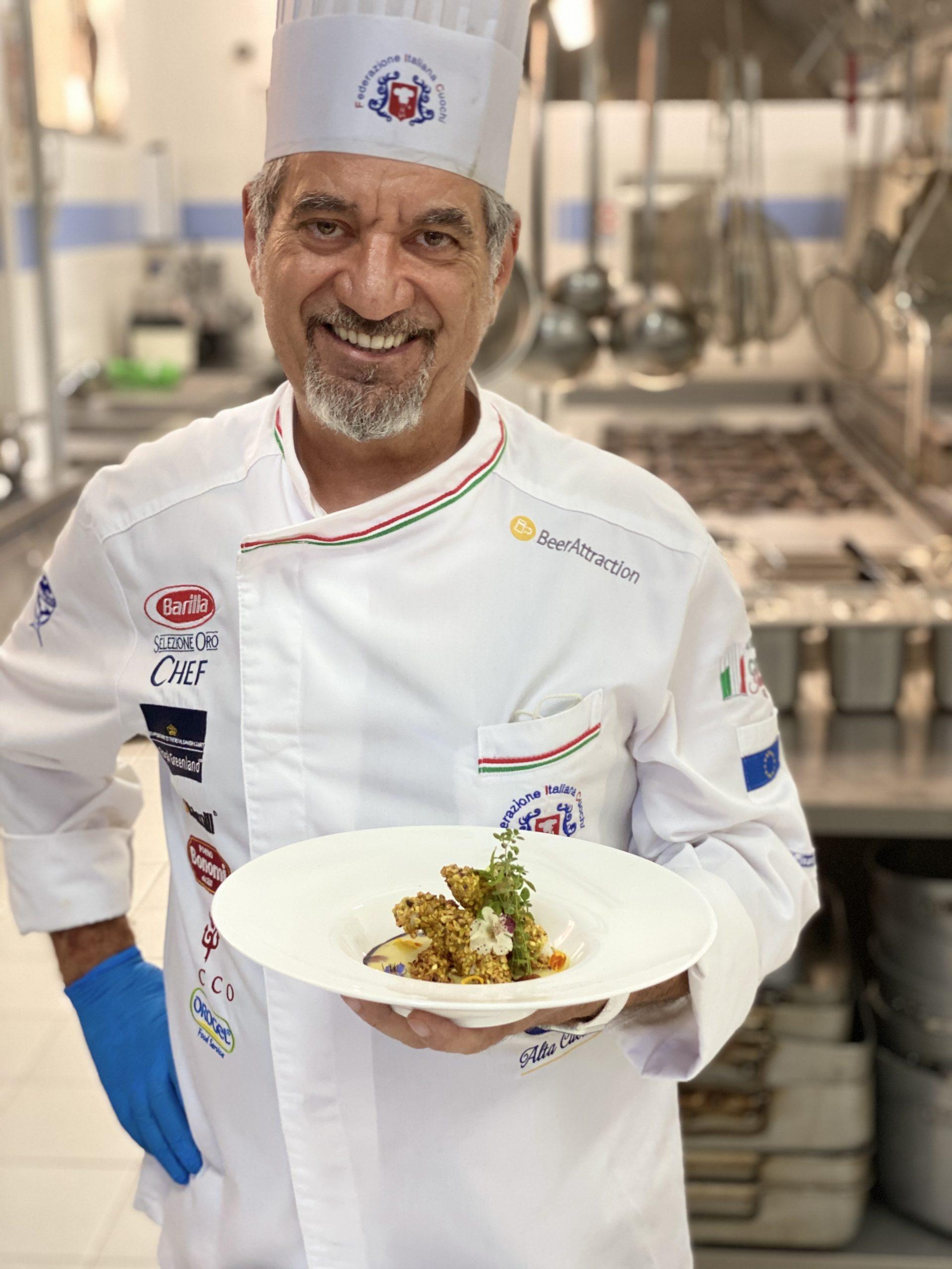 Giovanni Guastamacchia, chef dell'Unione Cuochi Lucani