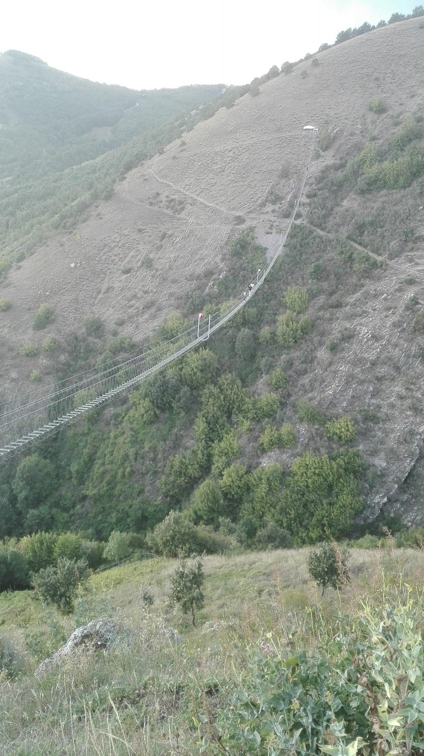 I sentieri nel borgo di Sasso di Castalda