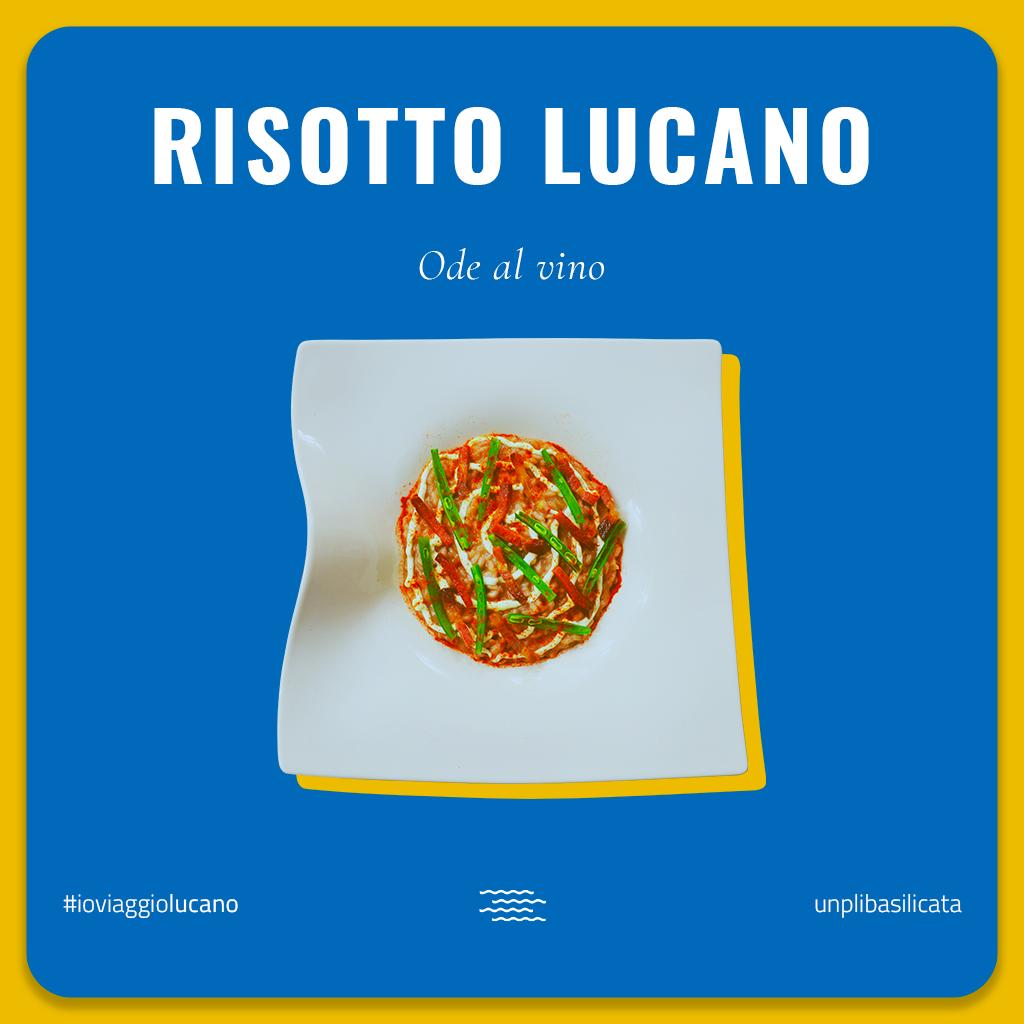 Grafica del risotto lucano