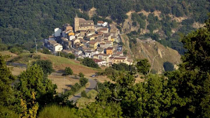 Panoramica di Oliveto Lucano